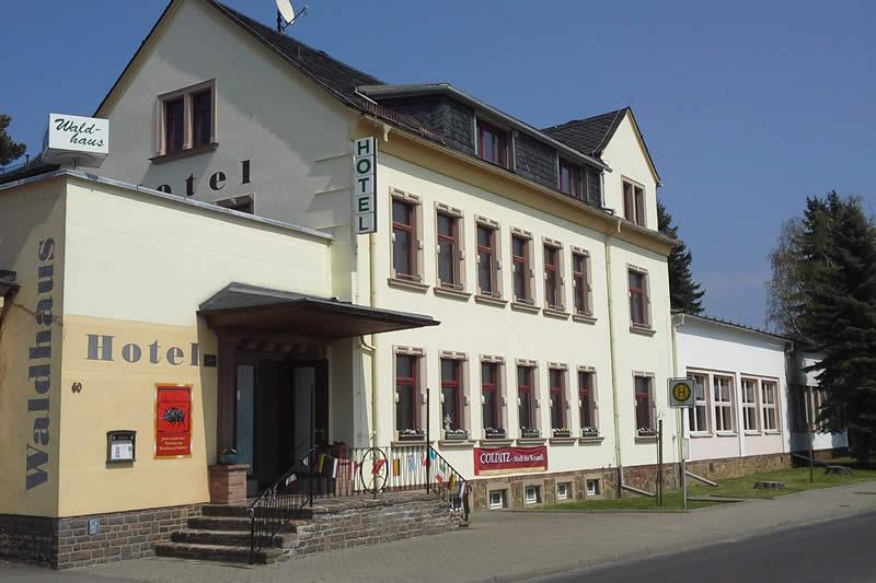 Colditz Castle Hotel Waldhaus near Castle Colditz in Saxony - Leipzig ...